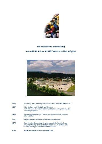 ARCANA Die historische Entwicklung - Althofen