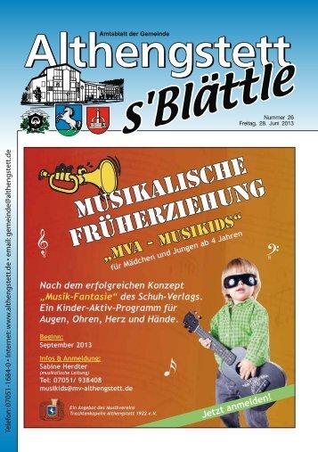 KW 26/2013 - Althengstett