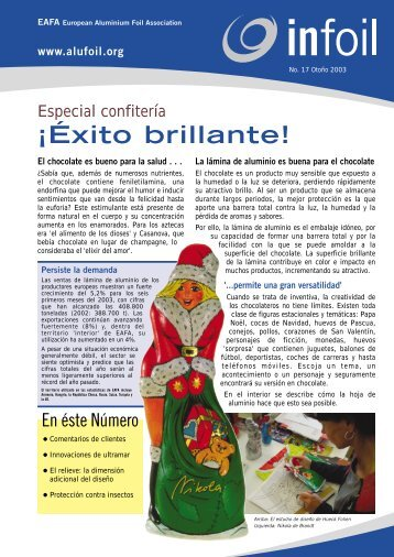 ¡Éxito brillante! - European Aluminium Foil Association