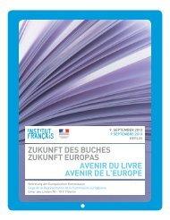 Programm (siehe PDF-Dokument) - Französische Botschaft