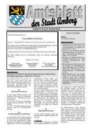 Nr. 23/2013 - Stadt Amberg