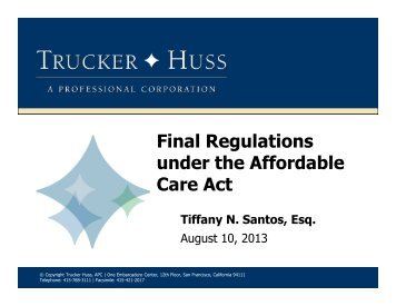 affordable care act regulations pdf