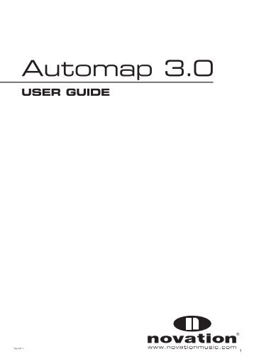 Automap 3 User Guide - American Musical Supply