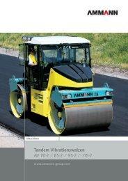 Tandem Vibrationswalzen AV 70-2 / 85-2 / 95-2 / 115-2