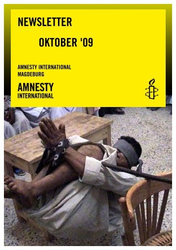 Oktober 2009 - Amnesty International Magdeburg
