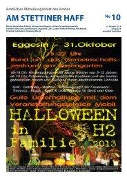 Ausgabe 10/13 - Amt am Stettiner Haff
