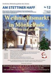 Ausgabe 12/13 - Amt am Stettiner Haff