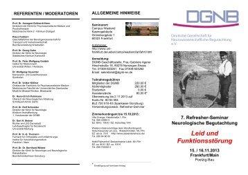 Programm - DGNB