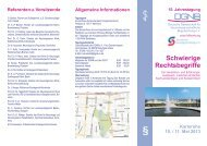 Programm Karlsruhe 2013 - DGNB