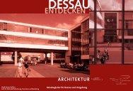 Architektur - Tourismusregion Anhalt-Dessau-Wittenberg