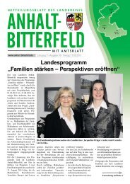 Ausgabe 10 vom 17. Mai 2013 - Landkreis Anhalt-Bitterfeld