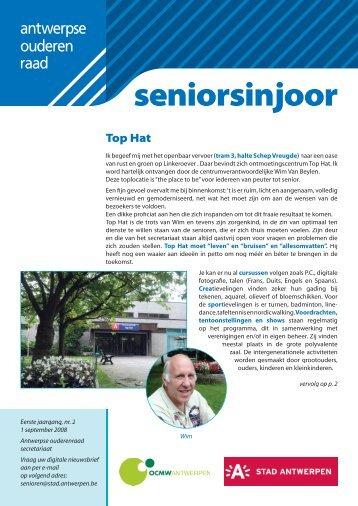 Nieuwsbrief sept08.indd - Stad Antwerpen