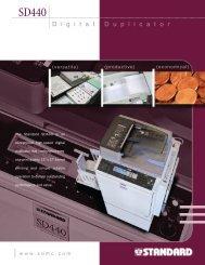 a PDF Spec Sheet