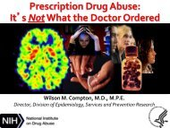 Prescription Drug Abuse: It's Not What the Doctor Ordered