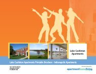 Lake Castleton Apartments Printable Brochure - Apartments For Rent