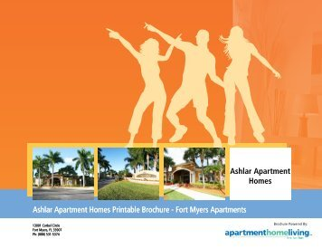 Ashlar Apartment Homes Printable Brochure - Apartments For Rent