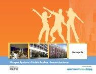 Metropole Apartments Printable Brochure - Apartments For Rent