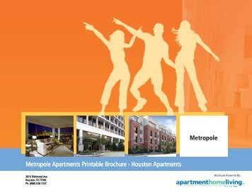 Metropole Apartments Printable Brochure - Apartments For Rent