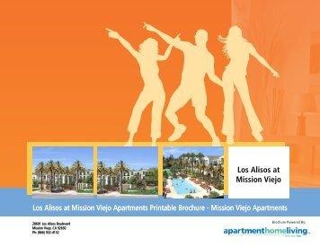 Los Alisos at Mission Viejo Apartments Printable Brochure - Mission ...
