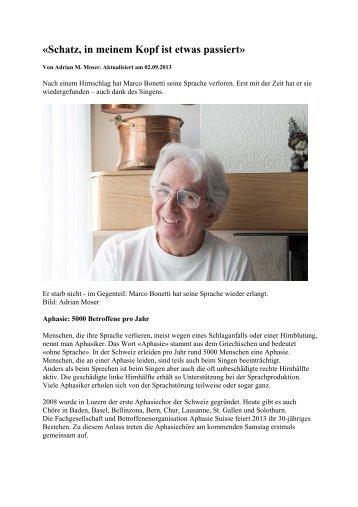 Artikel pdf - Aphasie Suisse