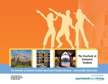 The Overlook at Gwinnett Stadium Apartments Printable Brochure ...