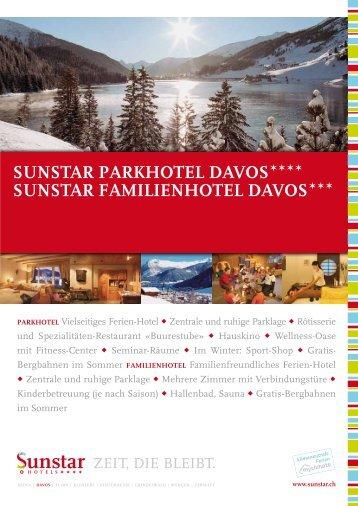 sunstar Parkhotel Davos sunstar Familienhotel Davos