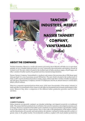 Nasser Tannery Co.& Tanchem Industries - Asian Productivity ...