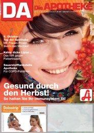 Gesund durch den Herbst! - Österreichische Apothekerkammer