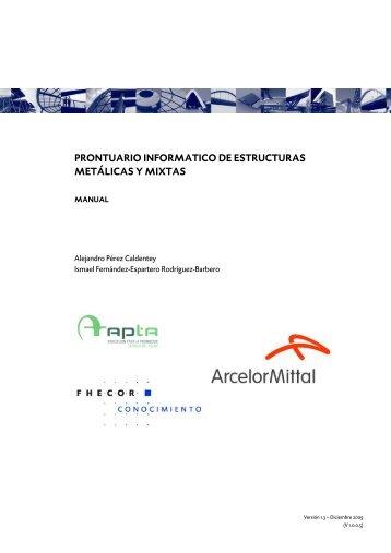 prontuario informatico de estructuras metálicas y mixtas - APTA ...