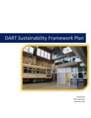 DART Sustainability Framework Plan - American Public ...