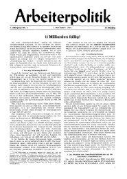 11 Milliarden ftillig! - der Gruppe Arbeiterpolitik