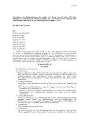Allgemeine Arbeitnehmerschutzverordnung - AAV - Arbeitsinspektion