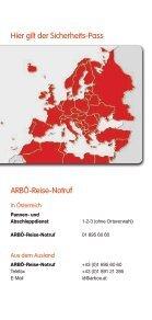 Sicherheits-Pass Bedingungen - Arbö - Seite 2