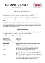 SEIFENKISTLRENNEN - ARBOE Bad Ischl