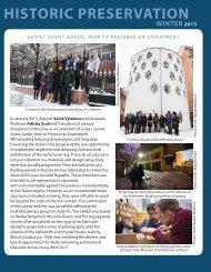 historic preservation - Columbia University Graduate School of ...