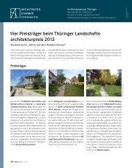 DAB November 2013 - Architektenkammer Thüringen