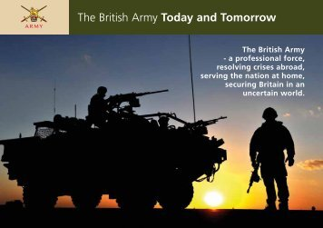 The British Army Today and Tomorrow