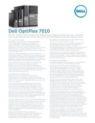 Datenblatt Dell OptiPlex 7010 deutsch - ARP