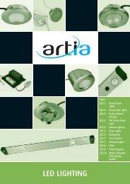 LED LIGHTING - Artia