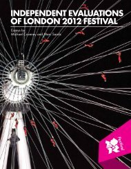 independent evaluations of london 2012 festival - Arts Council ...