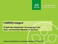 Kardiologische Verträge zur Integrierten Versorgung der AOK PLUS