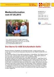 Infos - ASB RV NORD-OST eV