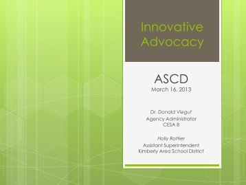Building Public Support for Your School - ASCD