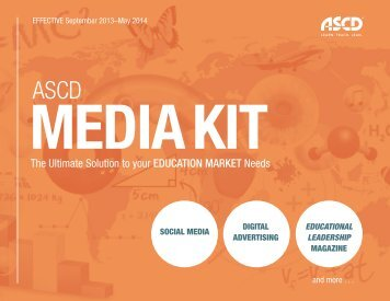 2013–14 ASCD Media Kit