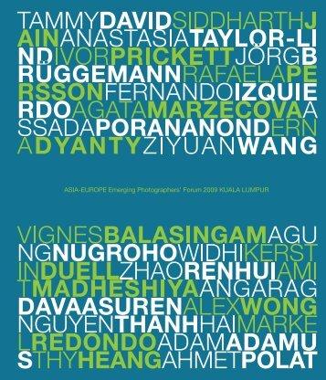 Photographers Forum information booklet.pdf - Asia-Europe ...