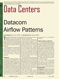 Datacom Airflow Patterns - ashrae