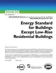2012 Addenda Supplement to Standard 90.1-2010 - ashrae