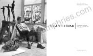 ELISABETH FRINK Catalogue Raisonné of Sculpture ... - Ashgate