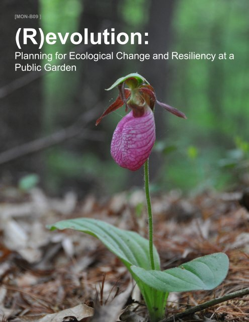 (R)evolution: - American Society of Landscape Architects