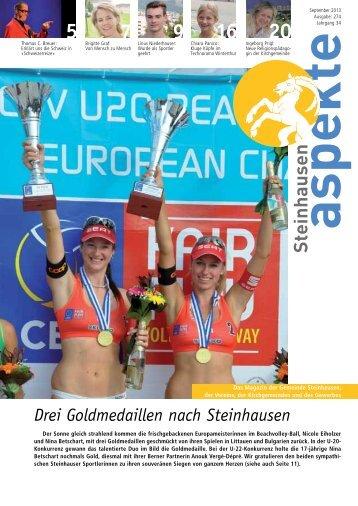 Ausgabe 09/2013 - Aspekte Steinhausen